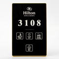Modern Multi-functional Hotel DND Doorbell With Room Numbers