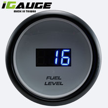 Electronic LED Electrical Digital Fuel Tank Level Meter For Mitsubishi
