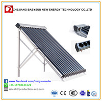 Haining manufacturer pressure heat pipe solar collectors for projects
