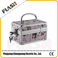 Professional Hairdressing Carry Case Aluminum Makeup Case