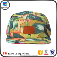 Design Your Own Leather Strap 5 Panel Hats