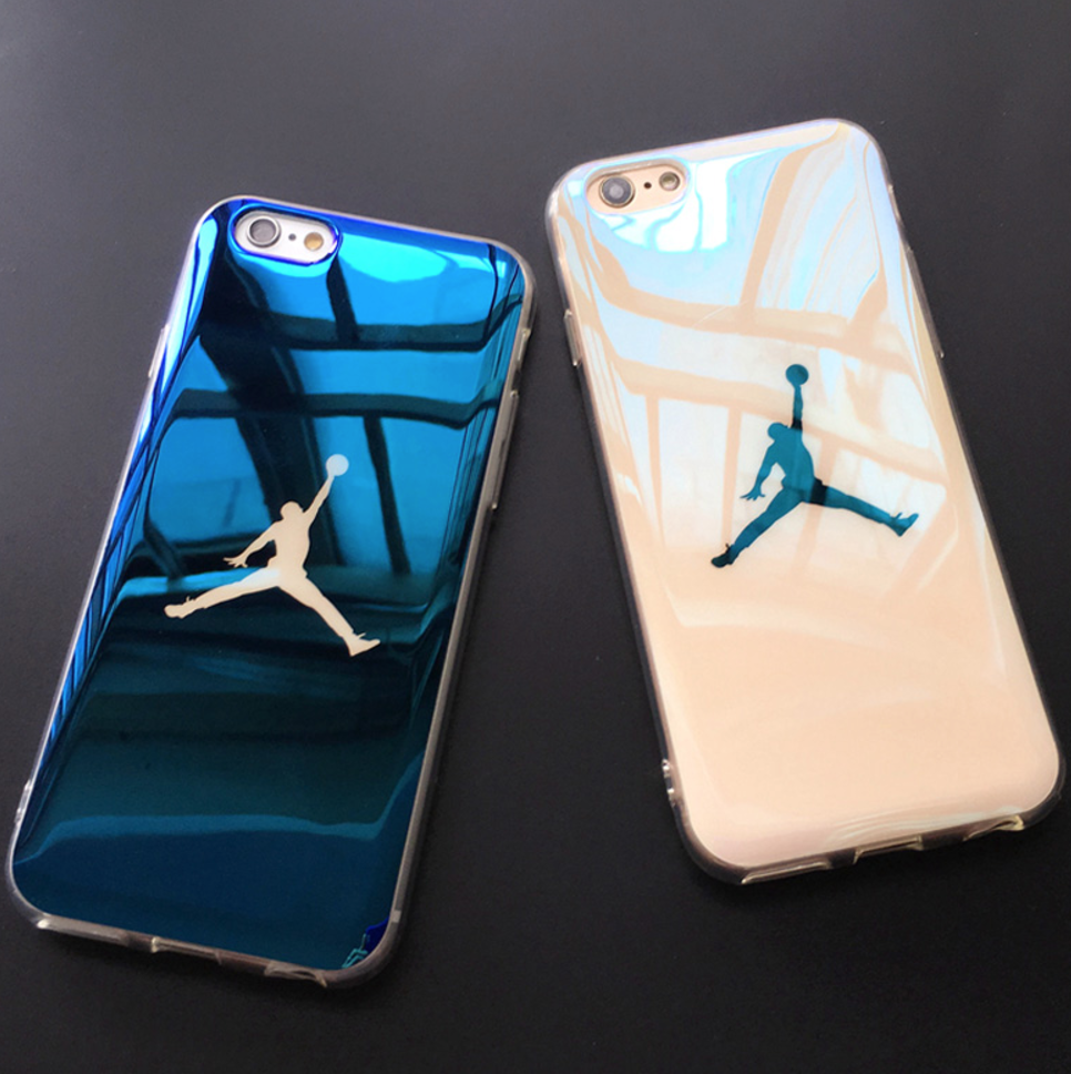 Michael Jordan Supreme Jumping man Bulls TPU Case for iphone 6s plus 7 7plus <strong>hot</strong>