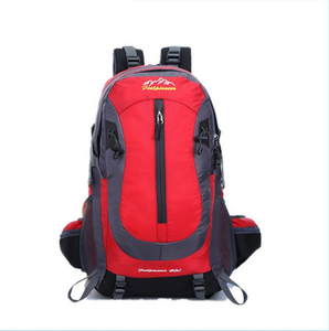 red vans backpack with customized size and design