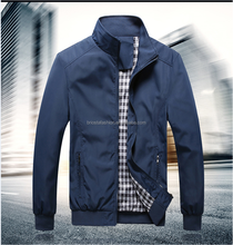 Wholesale Fashion Zip Formal Outwear Jacket Men Overcoat