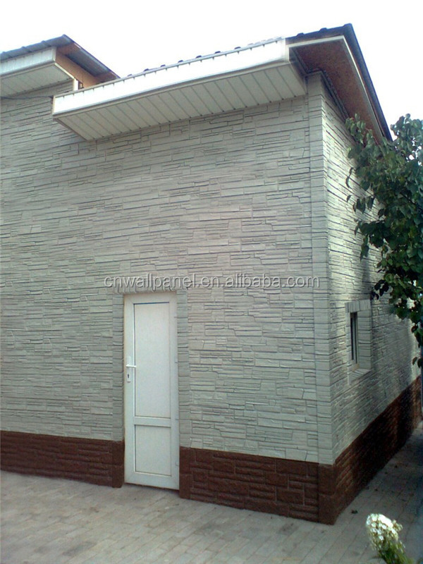 faux stone decorative exterior 3d wall boards vinyl siding low price