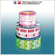 customized printed packaging film for instand noodle