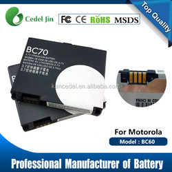 For MOTO Cell Phone Battery BC70 A3300C
