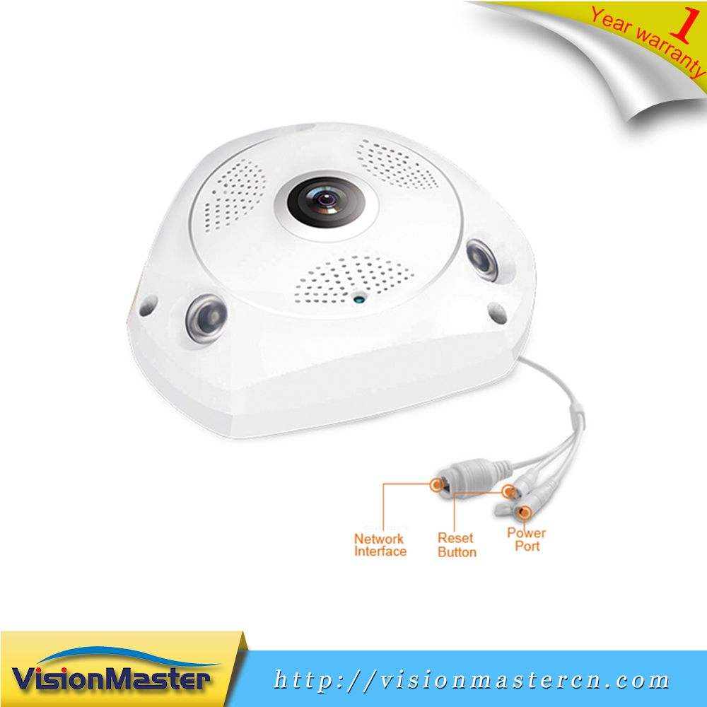 Low Cost 960P HD 360 Degree Full View Fisheye Ip Camera For Baby Monitoring