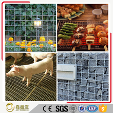high quality low price stainless steel barbecue bbq grill wire mesh net/crimped wire mesh