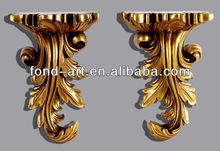 PU023 European style Gold Color living room wall decoration