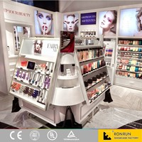 cosmetic retail store decoration design retail display furniture