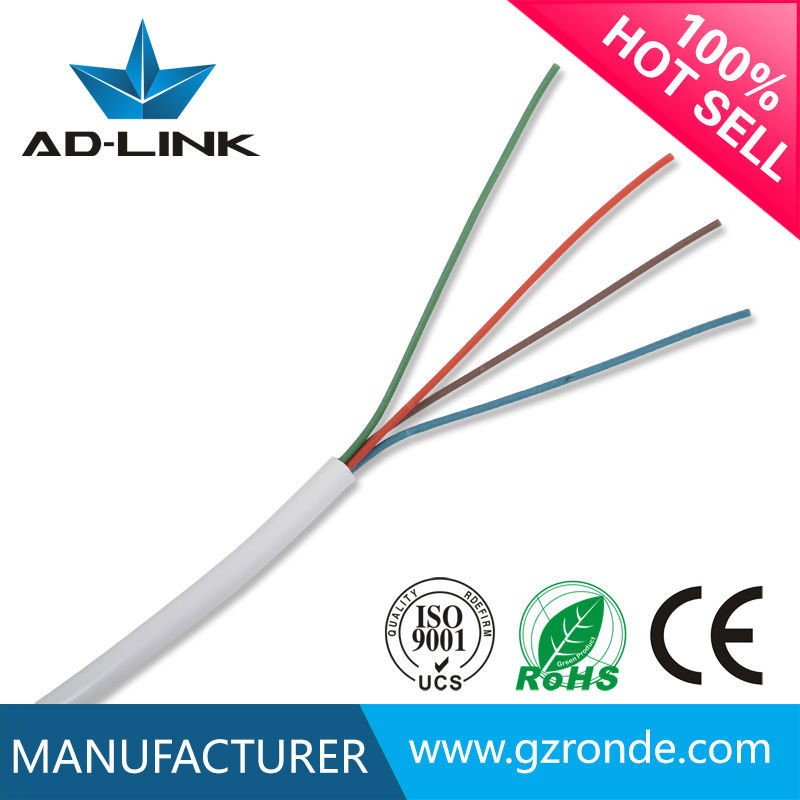 AD-LINK 4 cores round or flat telephone cable