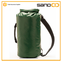 China tarpaulin foam backpack, travel bag waterproof tarpaulin backpack