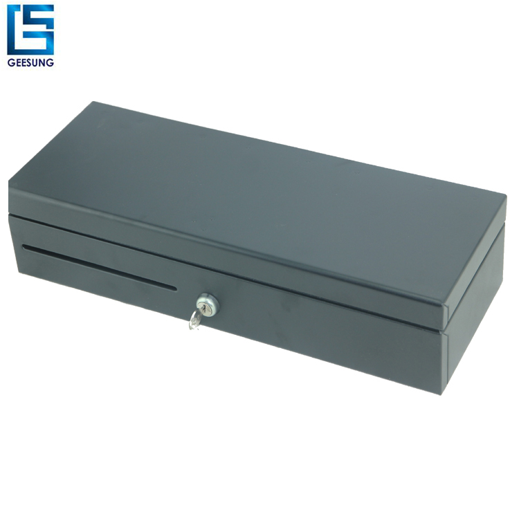 Stainless Steel adjustableand8coin removable Flip Top Cash Drawer