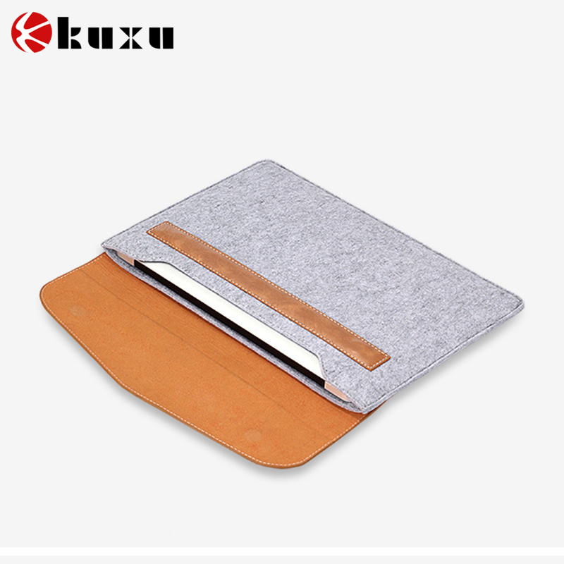 Customizedl design Felt tablet computer cover case
