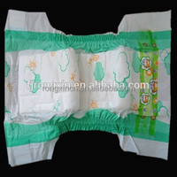 Low price baby disposable super absorbent baby diapers manufacturer in China