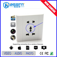 Low Price Made in China wall switch hidden camera (BS-740)