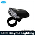 2016 practical LED bicycle lighting with two powerful LED flashlight wholesale bicycle lighting