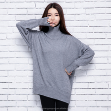 wholesale new design autumn and winter pullover cashmere knit woman sweater