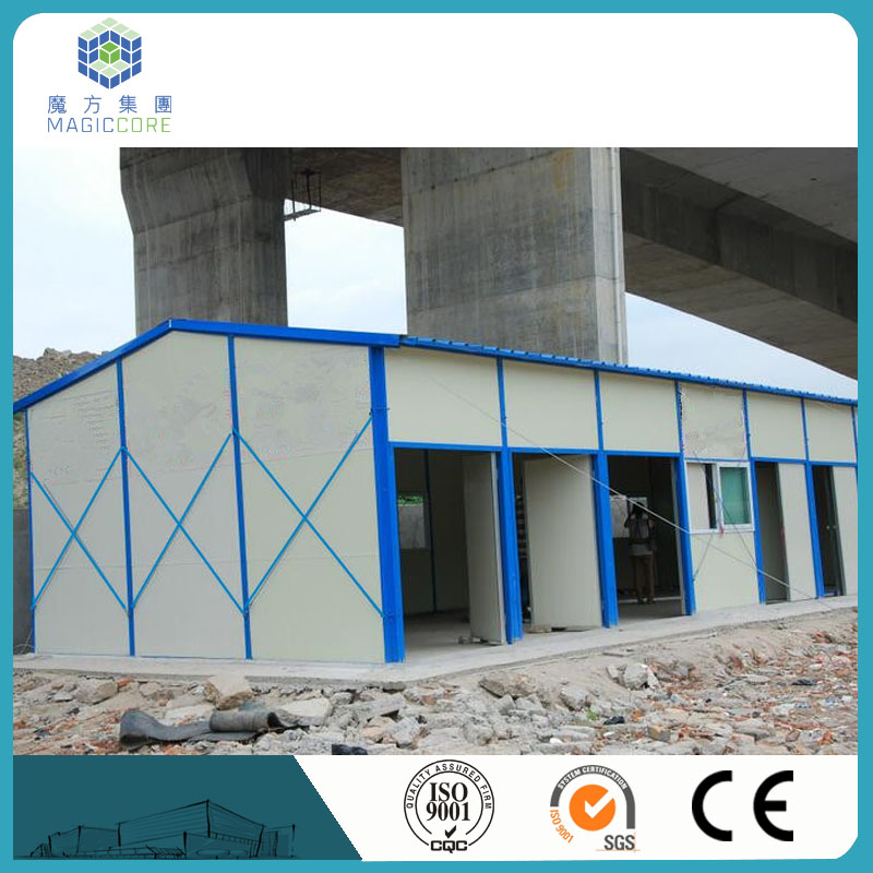 cheap ready made pvc prefabricated house in india