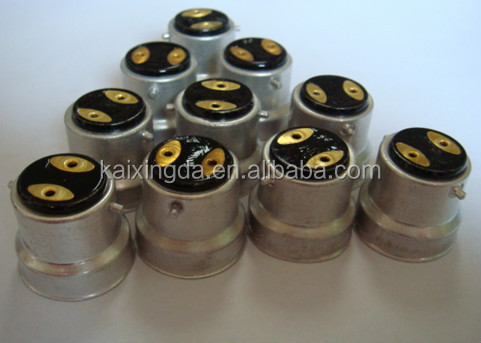 latest products brass-nickel lamp cap_B22