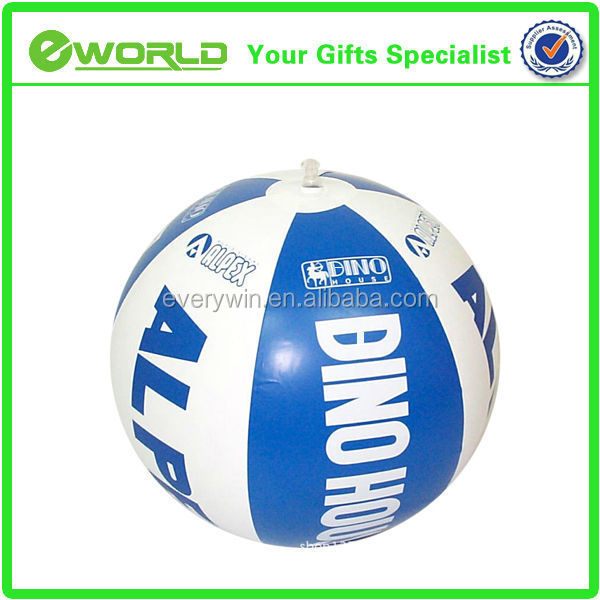 Custom Logo Printed Promotional PVC Waterball Inflatable Beach Ball