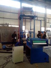 High capacity HDPE film blowing machine for plastic bag plastic twine