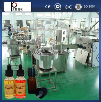Shanghai factory price essential oil filling machine for glass bottle small bottle CE