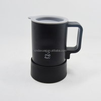 New Design Products in China 350ml Stainless Steel Coffee Mug With Lid Handle and Separate Base Scald Preventing
