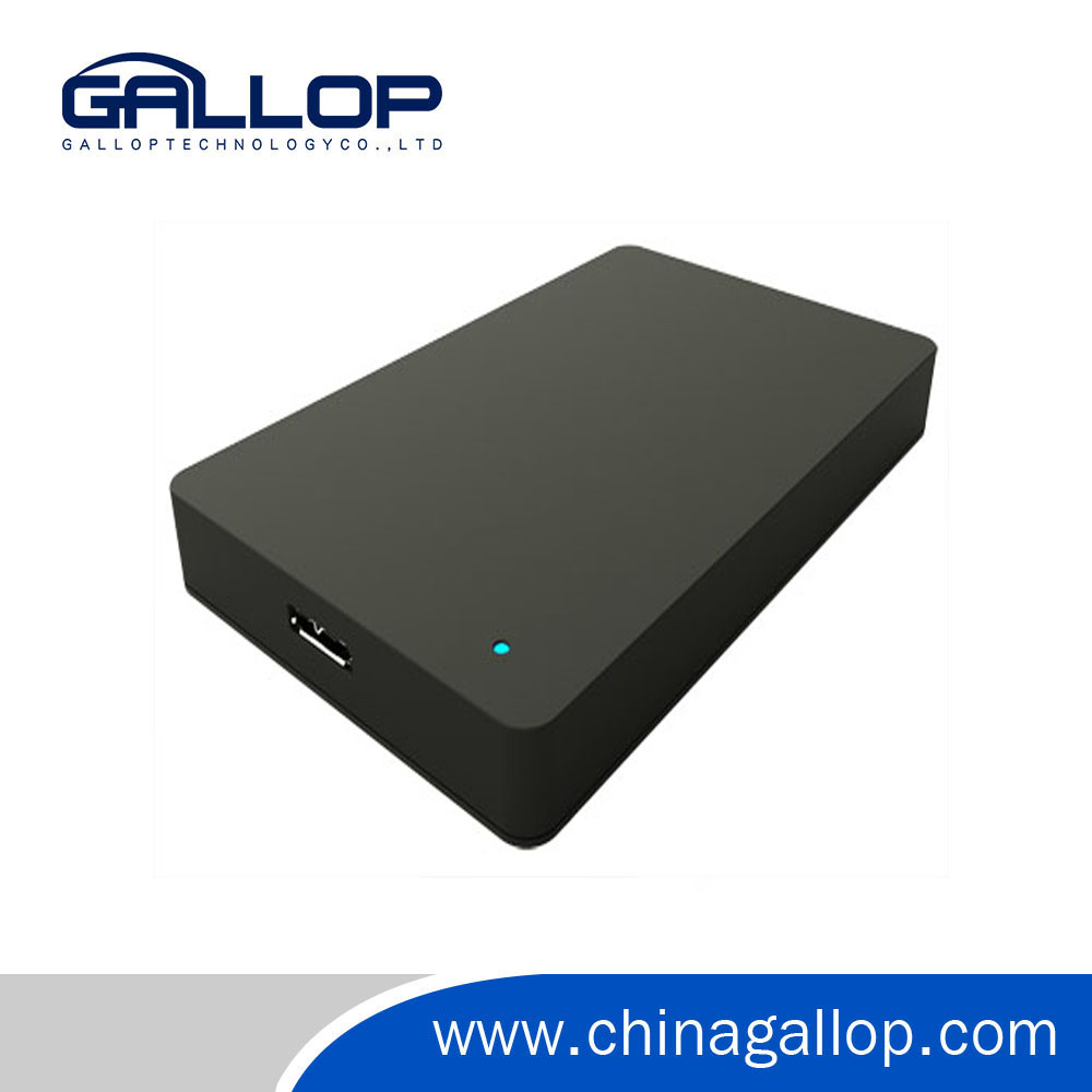 Plastic 2,5 inch usb3.0 external hard drive case hdd enclosure.