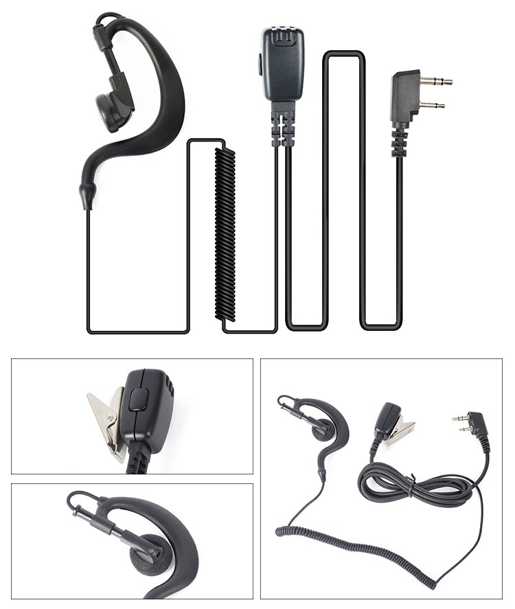 Hands Free Headsets Wireless Communications Waterproof Vhf Radio Headsets