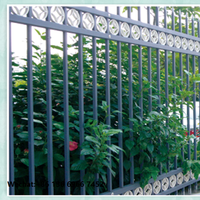 Anti corrosion road using metal fence and guardrail design