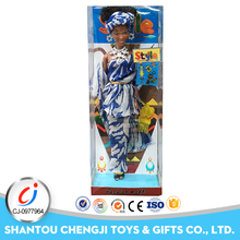 Hot selling fashion girl toy silicone black african dolls with 3 styles