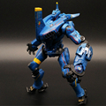 Custom making Blue Movable Robot Vinyl PVC Action Figure Toy China manufacturer