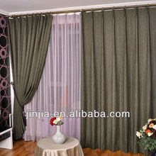 2015 New style blackout curtain lining fabric printed window curtain designer curtains