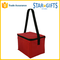 600D Poly Oxford Custom Insulated Lunch Cooler Bag With PVC Backing