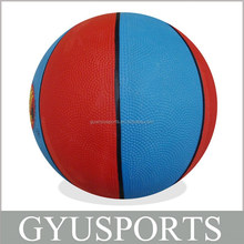 GY-D016 Size 1 2 3 5 7 High Quality Cheap Rubber Basketball Balls for Kids/Promotion