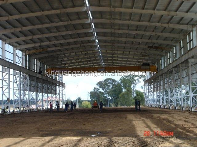 heavy duty workshop steel structure in South Africa