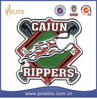 free sample badge metal,custom baseball trading pin for sport event