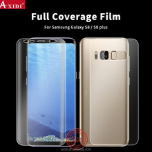 Anti Broken Fast Automatic Scratch Repair Screen Protector Film for Galaxy S8 Tpu Full Cover Film