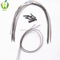 Super Elastic Dental orthodontic niti wire dental material orthodontic arcos de ortodoncia