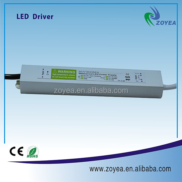 constant current dimmable 36w led driver