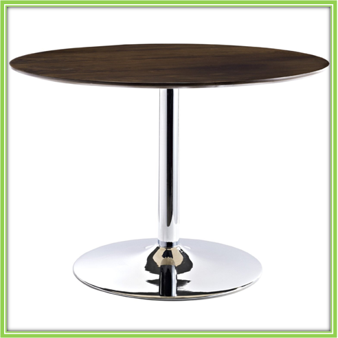 2016 Modern design high selling wooden top dining table round