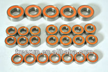 High Performance CEN MATRIX R2 FRE steel bearing kits with different rubber seal color