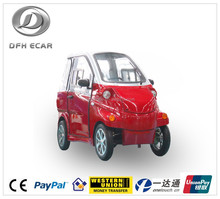 CE approved enclosed 4 wheels electric mini car