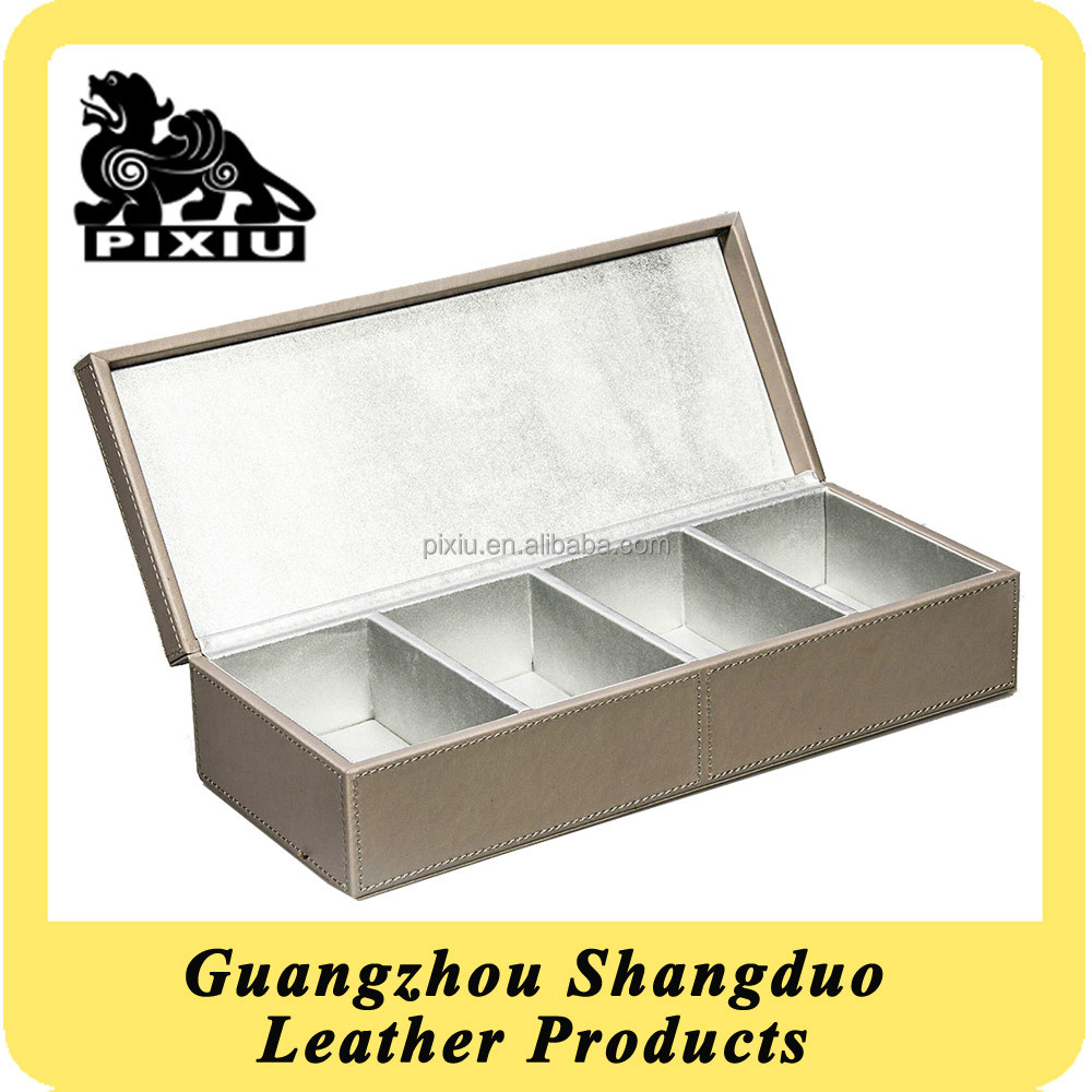 Experienced Manufacture Make-up Box Custom PU Cosmetic Case