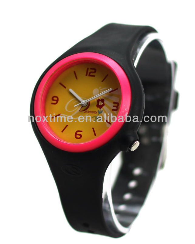 promotional gift silicon watch watch silicone