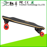 2016 kick hoverboard stand up gas skateboard gasoline powered motor scooter