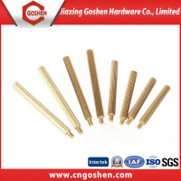 brass knurling dowel pin