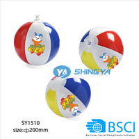Promotional PVC inflatable water ball for kids (small size)